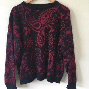 Sweaters - Paisley Sweater